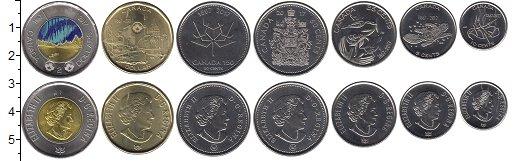 Изображение Наборы монет Канада 150 лет Канаде 2017  UNC