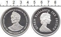 Изображение Монеты Тувалу 10 долларов 1980 Серебро Proof Елизавета II.  80 -