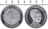Изображение Монеты Дания 500 крон 2015 Серебро Proof