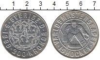 Изображение Монеты Швеция 200 крон 1989 Серебро UNC Хоккей