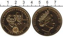Изображение Монеты Тристан-да-Кунья 1 крона 2011 Латунь Proof-