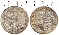 Изображение Монеты ФРГ 10 марок 1987 Серебро UNC- G  30 - летие  Римск