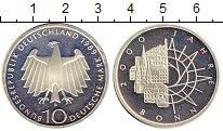 Изображение Монеты ФРГ 10 марок 1989 Серебро Proof D. 2000 лет Бонну