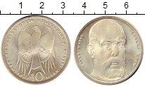 Изображение Монеты ФРГ 10 марок 1993 Серебро UNC- J. 150 лет со дня ро