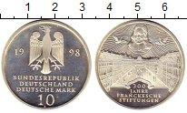 Изображение Монеты ФРГ 10 марок 1998 Серебро Proof- А   300 - летие  Бла