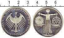 Изображение Монеты ФРГ 10 марок 2000 Серебро Proof- А   Природа,  наука,