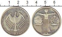 Изображение Монеты ФРГ 10 марок 2000 Серебро UNC- А   Природа,  наука,