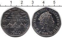 Изображение Мелочь Великобритания 50 пенсов 2015 Медно-никель UNC-
