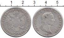 Изображение Монеты Австрия 20 крейцеров 1833 Серебро