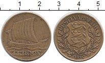 Изображение Монеты Эстония 1 крона 1934 Латунь VF