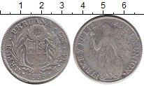 Изображение Монеты Перу 4 реала 1836 Серебро VF