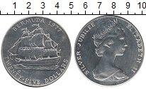 Изображение Монеты Великобритания Бермудские острова 25 долларов 1977 Серебро UNC