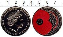 Изображение Монеты Остров Джерси 5 фунтов 2017 Медно-никель Proof-