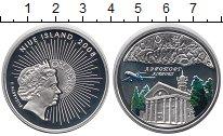 Изображение Монеты Новая Зеландия Ниуэ 1 доллар 2008 Серебро Proof