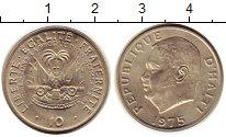 Изображение Монеты Гаити 10 сантим 1975 Медно-никель UNC- ФАО