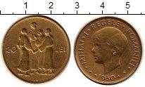 Изображение Монеты Румыния 20 лей 1930 Латунь VF Михай I (м.д.Кингс Н