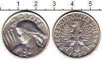 Изображение Монеты Польша 2 злотых 1925 Серебро XF+