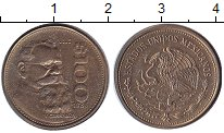 Изображение Монеты Мексика 100 песо 1985 Латунь UNC-
