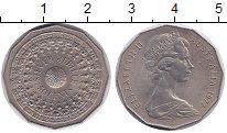 Изображение Монеты Австралия 50 центов 1977 Медно-никель UNC- Золотой юбилей правл