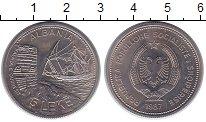 Изображение Монеты Албания 5 лек 1987 Медно-никель UNC- Морской порт Дураццо