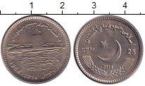 Изображение Монеты Пакистан 25 рупий 2014 Медно-никель UNC- 50 лет подводному фл