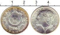 Изображение Монеты Италия 200 лир 1989 Серебро UNC- Чемпионат Мира по фу