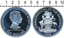 Изображение Монеты Багамские острова 10 долларов 1978 Серебро Proof-