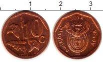 Изображение Мелочь ЮАР 10 центов 0 Бронза XF