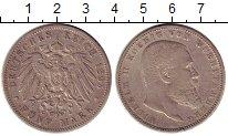 Изображение Монеты Германия Вюртемберг 5 марок 1895 Серебро XF-
