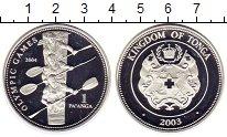 Изображение Монеты Тонга 1 паанга 2003 Серебро Proof