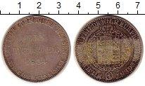 Изображение Монеты Гессен-Кассель 1 талер 1834 Серебро VF Вильгельм II и Фридр