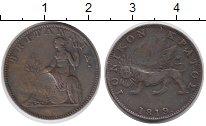 Изображение Монеты Греция Ионические острова 2 лепты 1819 Медь VF