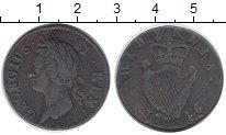 Изображение Монеты Ирландия 1/2 пенни 1746 Медь VF