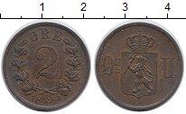 Изображение Монеты Норвегия 2 эре 1884 Бронза XF Оскар II