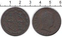 Изображение Монеты Испания 8 мараведи 1824 Медь XF-