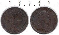 Изображение Монеты Гонконг 1 цент 1905 Бронза XF-