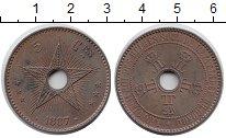 Изображение Монеты Бельгия Бельгийское Конго 5 сантим 1887 Бронза XF