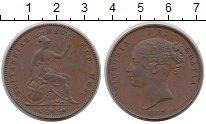 Изображение Монеты Великобритания 1 пенни 1857 Медь XF