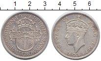 Изображение Монеты Родезия 1/2 кроны 1941 Серебро XF