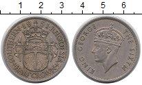 Изображение Монеты Великобритания Родезия 1/2 кроны 1951 Медно-никель XF