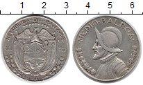 Изображение Монеты Панама 1/2 бальбоа 1947 Серебро XF