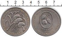 Изображение Монеты Гренада 4 доллара 1970 Медно-никель UNC-