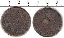 Изображение Монеты Франция 10 центов 1828 Медь XF-