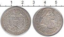 Изображение Монеты Австрия 6 крейцеров 1674 Серебро XF+ Леопольд