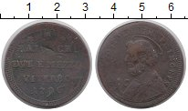 Изображение Монеты Ватикан 2 1/2 байоччи 1796 Медь VF