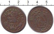 Изображение Монеты Италия Болонья 1/2 болоньино 1713 Медь VF