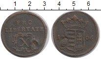 Изображение Монеты Венгрия 10 полтур 1706 Медь XF-