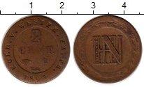 Изображение Монеты Германия Вестфалия 2 сантима 1809 Медь VF