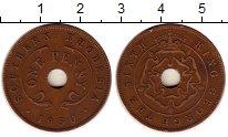 Изображение Монеты Великобритания Родезия 1 пенни 1950 Бронза XF