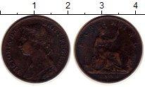 Изображение Монеты Великобритания 1 фартинг 1884 Бронза XF